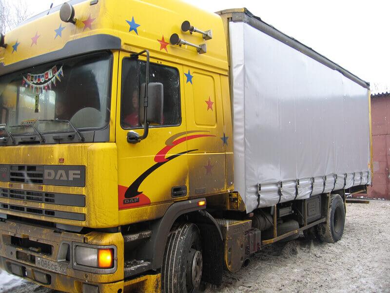 Изготовление тентов на грузовой автомобиль